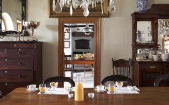 Breakfast Table at Hawksmoor Hotel
