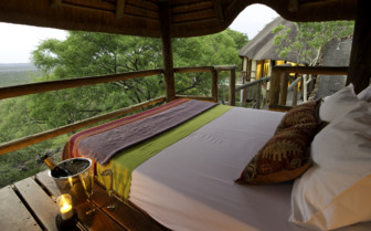 Bedroom at Little Ongava, luxury camp in Namibia