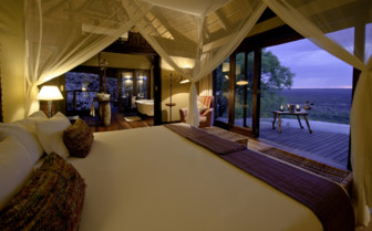 Suite with terrace at Little Ongava