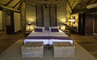 Luxury Tent wit double bed