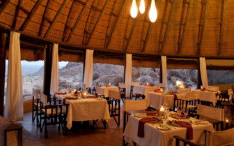 Restaurant at the camp