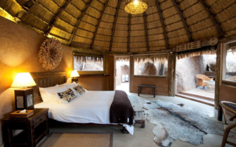 The Mowani suite at Mowani camp