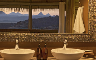 Bathroom at Mowani camp