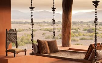 Terrace at Okahirongo Elephant Lodge