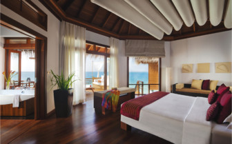 Luxury suite at Baros Maldives, luxury hotel in the Maldives