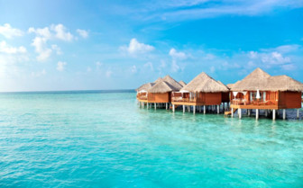Exterior at Baros Maldives, luxury hotel in the Maldives