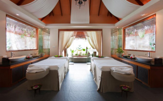 The spa at Baros Maldives hotel
