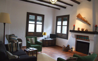 Living room area at Casa Olea