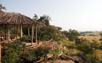 Exterior at Lamai Serengeti, luxury camp in Tanzania