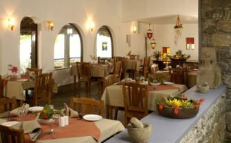 The restaurant at Shalimar Spice Garden Hotel