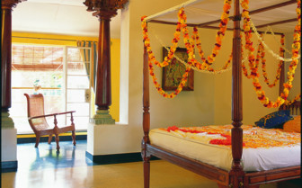Suite at Malabar House, luxury hotel in India