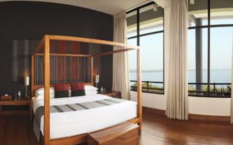 Luxury suite at Kandalama, luxury hotel in Sri Lanka