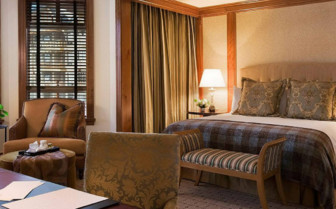 Large bedroom at Four Seasons Whistler hotel