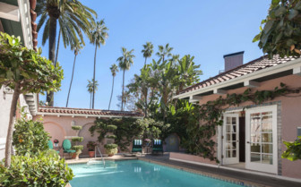 Private bungalow pool,at Beverly Hills Hotel