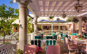 The Cabana Cafe at Beverly Hills Hotel
