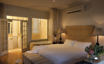 Bedroom at Cape Cadogan, luxury hotel in Cape Town, South Africa