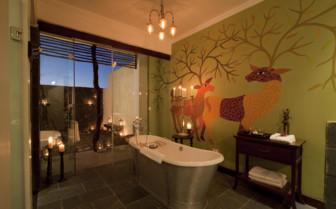 Bathroom at Samode Safari Lodge