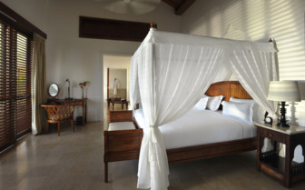 Spacious bedroom at The Residence Zanzibar