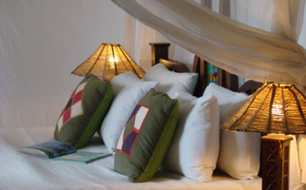 Double bedroom at The Swahili House