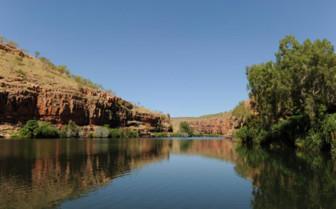 Chamberlain Gorge in Kimberly region of Australia