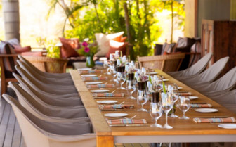 Wine and dinner at the Homestead