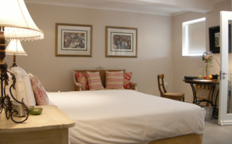 Bedroom at Four Rosemead,luxury hotel in Cape Town, South Africa