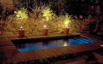 Pool at Four Rosemead hotel