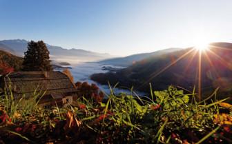 Panoramic Dolomites view
