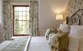 Bedroom at Cellars- Hohenort, luxury hotel in Cape Town, South Africa