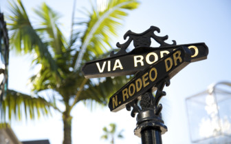 A Signpost for Rodeo Drive