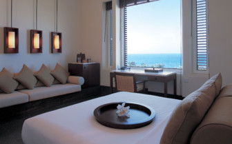 The Serai Room at The Chedi, luxury hotel in Muscat, Oman