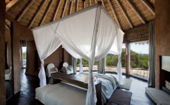 Large bedroom at Leobo Private Reserve, luxury safari camp in South Africa