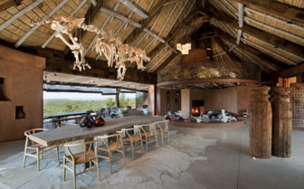 The interior at Leobo Private Reserve
