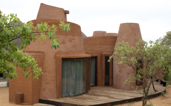 The exterior at Leobo Private Reserve