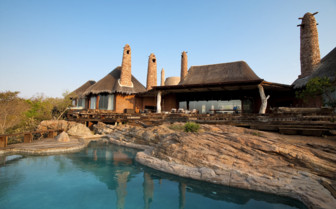 Exterior at Leobo Private Reserve, luxury safari camp in South Africa