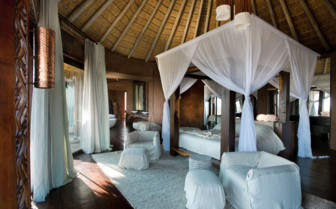 Large bedroom at Leobo Private Reserve