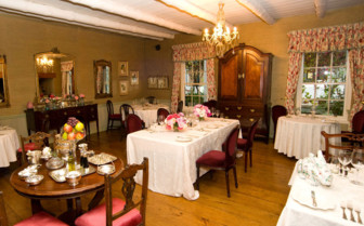 The restaurant at Kurland hotel