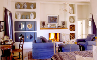 The suite interior at Kurland, luxury hotel in South Africa