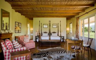 Bedroom at Samara hotel