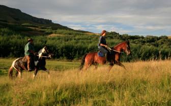 Horseback riding at Cleopatra Mountain Farmhouse