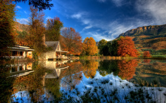Autumn at the hotel