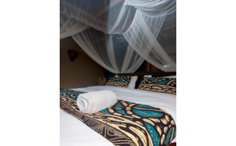 Picture of a bedroom at Nuarro Luxury Eco Lodge