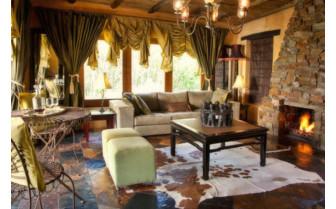 The interior at Hartford House hotel