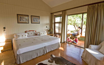 The family suite at Three Trees at Spioenkop, luxury hotel in South Africa