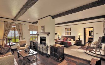 Luxury suite at The Manor, luxury cottages in Tanzania
