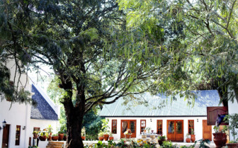 The exterior at The Manor, luxury cottages in Tanzania