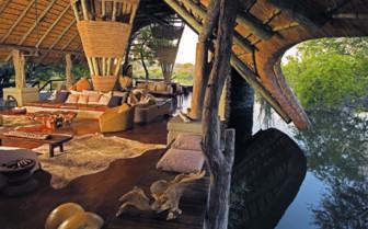 The main lodge at Singita Boulders