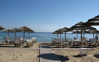 The beach at Masseria Torre Maizza