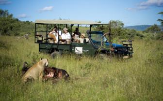 Safari tours at Klein's Camp