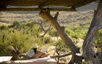 Views from Tswalu, luxury safari camp in South Africa